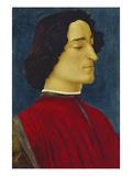 Giuliano De' Medici (1453-1478), about 1478 Giclee Print by Sandro Botticelli