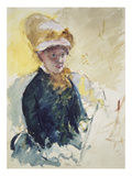 Self Portrait, about 1880 Giclee Print by Mary Cassatt