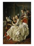 Galante Musikalische Unterhaltung, 1774 Giclee Print by Louis-Rolland Trinquesse