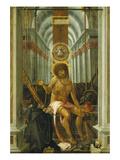 Christus Als Schmerzensmann (Oberalteicher Schmerzensmann) Giclee Print by  Master of Oberalteicher Schmerzenmannes