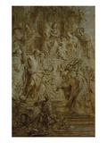 Verehrung Mariae Durch Heilige Giclee Print by Gaspard de Crayer