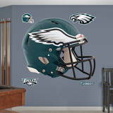 Philadelphia Eagles Revolution Helmet Wall Decal