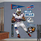 CJ Spiller- Away Wall Decal