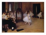 Dancing Class (Classe De Danse), about 1871 Prints by Edgar Degas