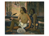 Eiaha Ohipa (Not Working), 1896 Giclee Print by Paul Gauguin
