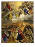 Die Anbetung Und Verherrlichung des Namens Jesu (Sogen.Traum Philipps Ii.), 1579 Prints by  El Greco
