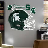 Michigan State Spartans Helmet Mode (wallstickers)