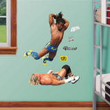 Kofi Kingston Splash Jr. Wall Decal