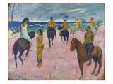 Horsemen on the Beach, 1902 Posters by Paul Gauguin