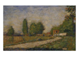 Landscape in the Surroundings of Paris, about 1883 Giclee Print by Georges Seurat