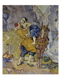 The Good Samaritan (After Delacroix), 1890 Giclee Print by Vincent van Gogh