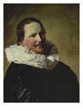 Portrait of a Thirty-Year Old Man with Toby Collar, 1633 Giclée-Druck von Frans Hals
