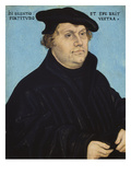Martin Luther, 1532 Gicle-tryk af Lucas Cranach the Elder