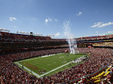 Washington Redskins - Sept 23, 2012: FedEx Field Photo av Alex Brandon