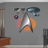 Star Trek Insignia: The Next Generation Wall Decal