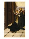 A Carol Giclee Print by Laura Teresa Alma-Tadema