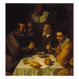 Luncheon, about 1617 Gicléedruk van Diego Velázquez
