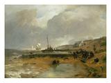 Beach Scene, 1880 Giclee Print by Andreas Achenbach