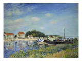 The Banks of the Loing at Saint-Mammes, 1885 Print by Alfred Sisley