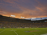 Green Bay Packers - Sept 13, 2012: Lambeau Field Photographic Print by Matt Ludtke