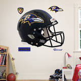 Baltimore Ravens Revolution Helmet Wall Decal