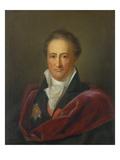 Johann Wolfgang Von Goethe, 1810/1811 Giclee Print by Gerhard Franz von Kügelgen