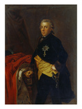 Prince Henry of Prussia Giclée-tryk af  German School