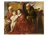 Die Hl. Familie Giclee Print by Jacob Jordaens