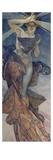 Alphonse Mucha - Sterne: Der Morgenstern, 1902 Digitálně vytištěná reprodukce
