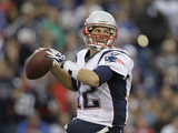 New England Patriots - Sept 30, 2012: Tom Brady Fotografie-Druck von Gary Wiepert