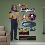 Star Trek Next Generation - Lieutenant Worf Wall Decal