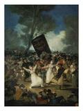 Das Begraebnis Der Sardine. Karnevalsszene, um 1812/1819 Giclee Print by Francisco de Goya