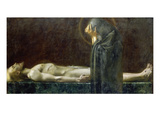 Pieta Art by Franz von Stuck