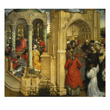The Wedding of the Virgin Mary, about 1420 Giclee Print by  Master of Flemalle