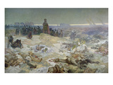 After the Battle of Grunwald in 1410, from the 'slav Epic', 1924 Giclee Print by Alphonse Mucha