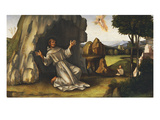 Saint Francis Receiving the Stigmata Giclee Print by Francesco Francia