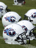Tennessee Titans: Tennessee Titans Helmet Photo by Mark Humphrey