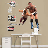 CM Punk Clothesline Jr. Wall Decal