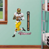 Robert Griffin III Jr. (RG3) - Washington Redskins Autocollant mural