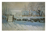 The Magpie, 1868/69 Prints by Claude Monet
