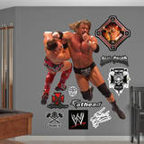 Triple H Clothesline Wall Decal