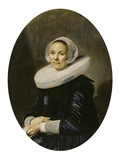 Portrait of a Woman, 1638 Giclee Print by Frans Hals