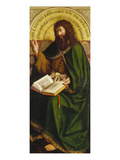 John the Baptist. Copy after Van Eyck (Ghent Altarpiece) Giclee Print by Michiel Coxcie
