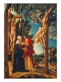 Mourning of Christ on the Cross, 1503 Lámina giclée por Lucas Cranach the Elder