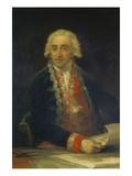 Bildnis des Juan De Villanueva, um 1800/1805 Prints by Francisco de Goya