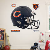 Chicago Bears Revolution Helmet Wall Decal