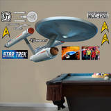 Star Trek - U.S.S. Enterprise NCC-1701 Wandtattoo
