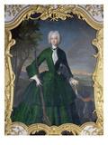 Kurfuerstin Amalia Maria Josepha Von Bayern Mit Einem Berger De Beauce Giclee Print by Franz Joseph Winter