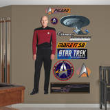 Star Trek Next Generation - Captain Jean-Luc Picard Wall Decal