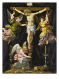 Christus Am Kreuz Prints by Francois Pourbus